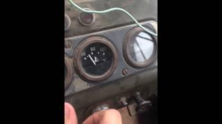 Температура двигателя на УАЗ )