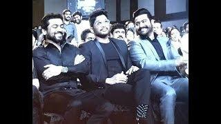 NTR Allu Arjun Together At Filmfare South 2017 - JioFilmfareAwards