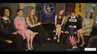 Download The Women of 'Game of Thrones' Reflect on Hardships [GMA EXCLUSIVE] Mp3 and Videos