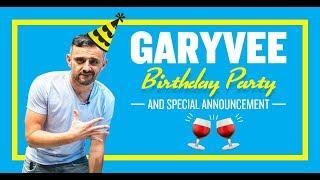 GaryVee Birthday Live Stream 🎉🎂🎉