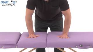 Видео о  Массажный стол Art Of Choice Den Comfort Blue