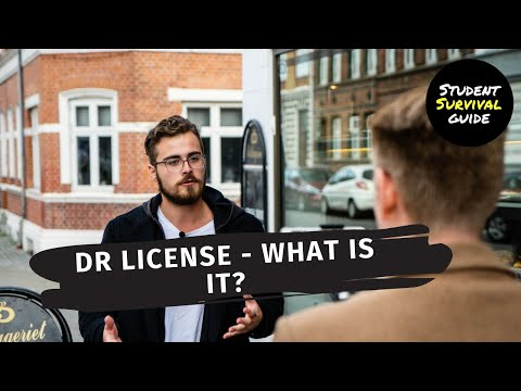Can We Help You Save 1.927,00 Kr. Per Year? - DR License | Student Survival Guide