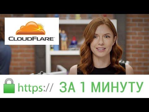 Бесплатный переход на Https за 1 минуту C Cloudflare