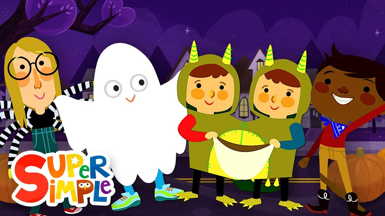 goodbye my friends halloween party song super simple songs