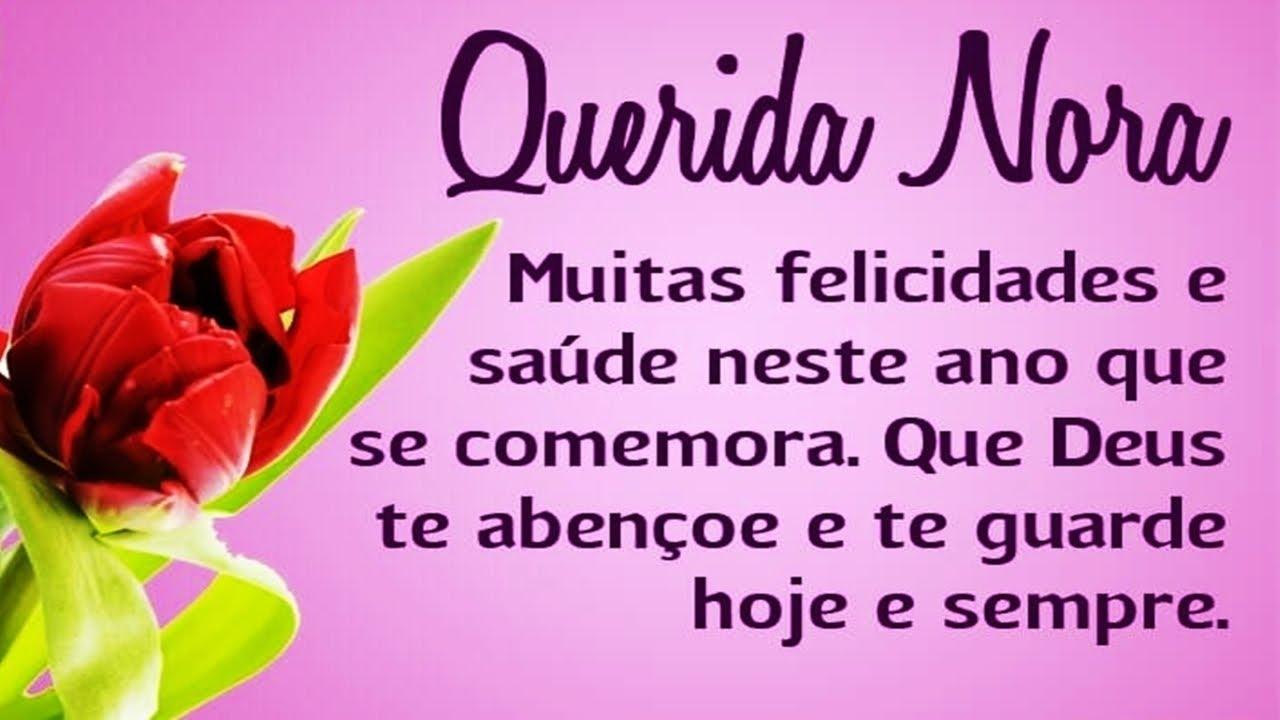 Mensagem De Aniversário De Nora Voz Feminina 05