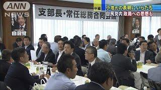 自民党は戸惑いも・・・小池百合子氏都知事選に出馬表明(16/06/29) thumbnail