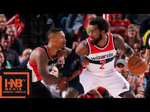 Washington Wizards vs Portland Trail Blazers Full Game Highlights | 10.22.2018, NBA Season