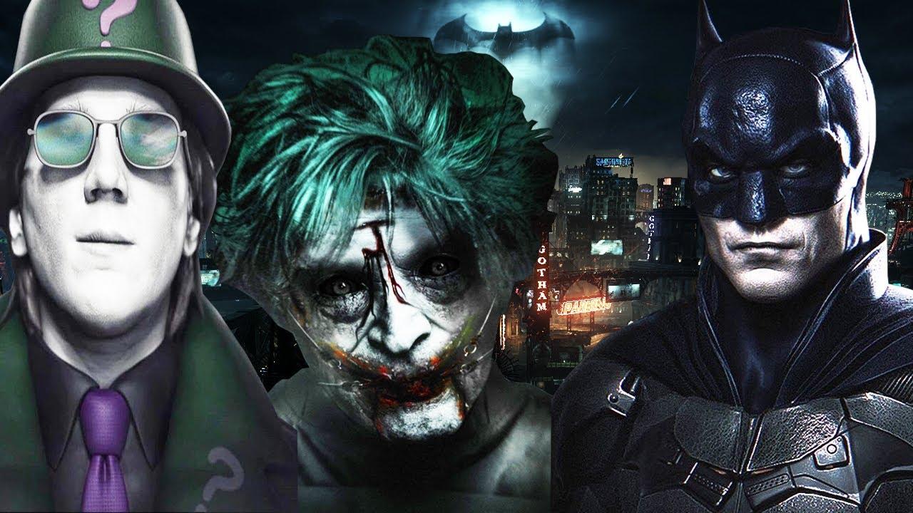 THE BATMAN 2021 THE JOKER SCENE REVEALED! LEAKED RIDDLER ...