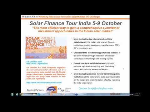 Financing India's Solar Revolution: Opportunities and Challe