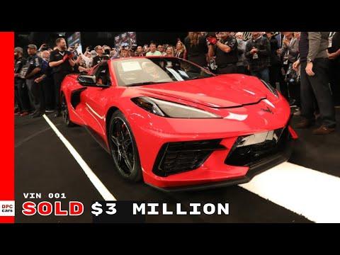First 2020 Corvette Stingray Sells For $3 Million