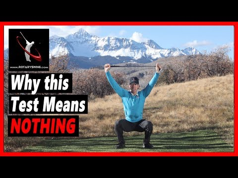 Why this Common Golf Flexibility Test is USELESS for Making a Full Shoulder Turn