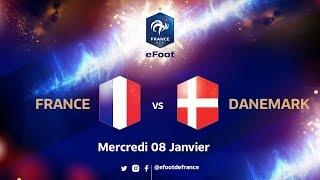 eFoot de France Danemark le replay