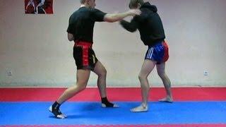 Тайский бокс Тренировка Упражнение на скорость и точность удара руками