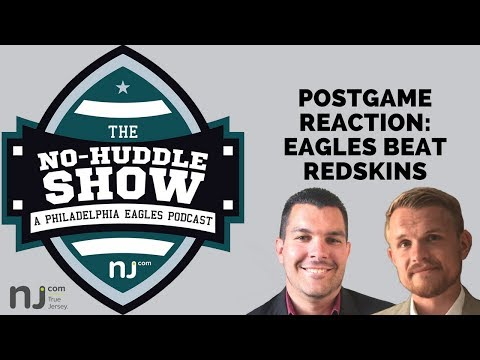 Eagles beat Redskins, 30-17, in Week 1