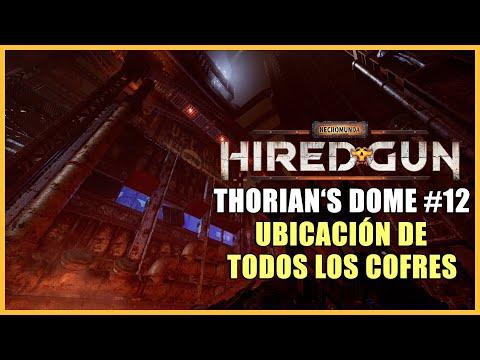 Necromunda: Hired Gun guía - Dónde encontrar los 5 cofres de Thorian's Dome - Capítulo 12
