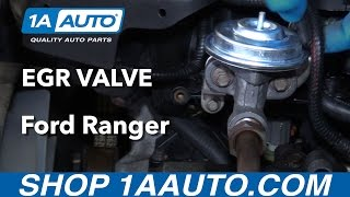 How to Replace EGR Valve 98-12 Ford Ranger