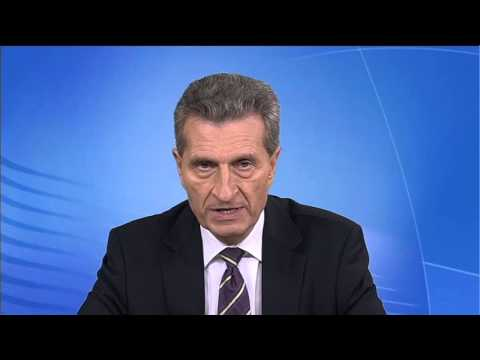 Commissiner Günther H. Oettinger on Industry 4.0