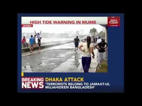 High Tide Warning In Mumbai