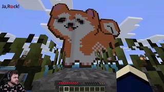 KWADRATOWA MASAKRA - pierwsze wejście na serwer -  Minecraft / 25.11.2019 (#5)