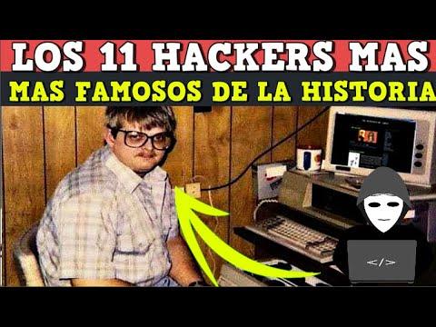 Los 11 hackers mas famosos de la historia