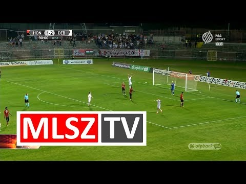 Aleksandar Jovanovic gólja a BUDAPEST HONVÉD - DEBRECENI VSC mérkőzésen
