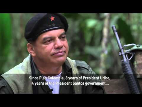 A visit to a camp for Colombia's guerilla group the FARC