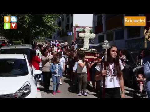 Cruz de Mayo de la Hermandad del Ecce Homo en El Barrio de Las Colinas