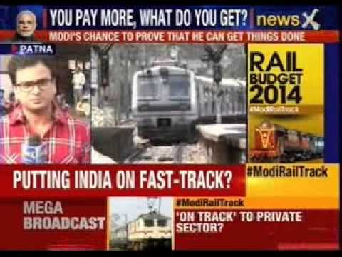 Narendra Modi's first rail budget today
