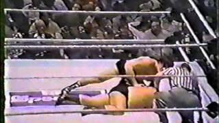 Spectrum Wrestling - Tito Santana Vs Bulldog Brower