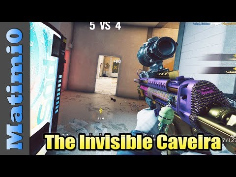 The Invisible Caveira - Rainbow Six Siege
