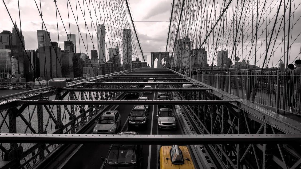 New York Brooklyn Bridge Time Lapse 4k Ultrahd Youtube