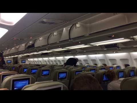 Hi Fly Malta A340-300 economy class flying for Finnair