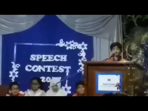 Pak turk school speech competition Abdul Rehman