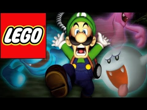 How To Build Lego Luigi Luigi S Mansion 3 Youtube