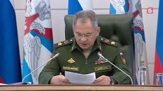 Шойгу: действия НАТО вынуждают принимать ответные меры для безопасности страны