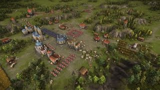 Cossacks 3 - Battle Gameplay Footage