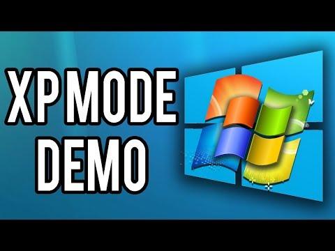 Installing Windows XP On Windows 7 On Windows 10 (XP Mode Demo)