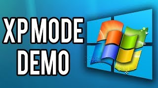 Installing Windows XP on Windows 7 on Windows 10 (XP Mode Demo)