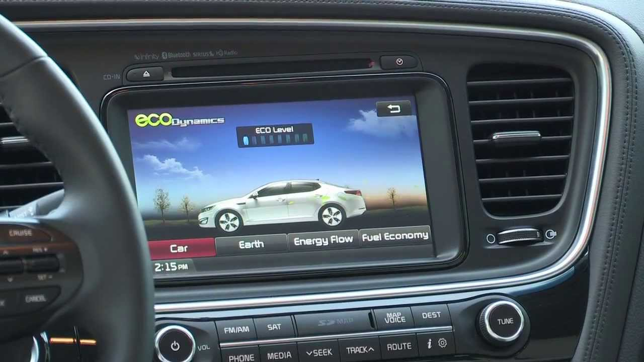 2015 Kia Optima Hybrid   Interior   YouTube