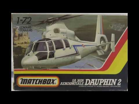 1/72 Matchbox Dauphin 2 kit# PK-38