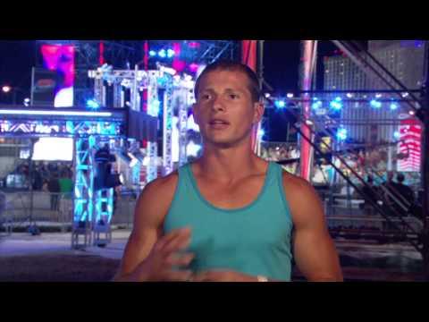 American Ninja Warrior 2013: Brent Steffensen Official Vegas Interview