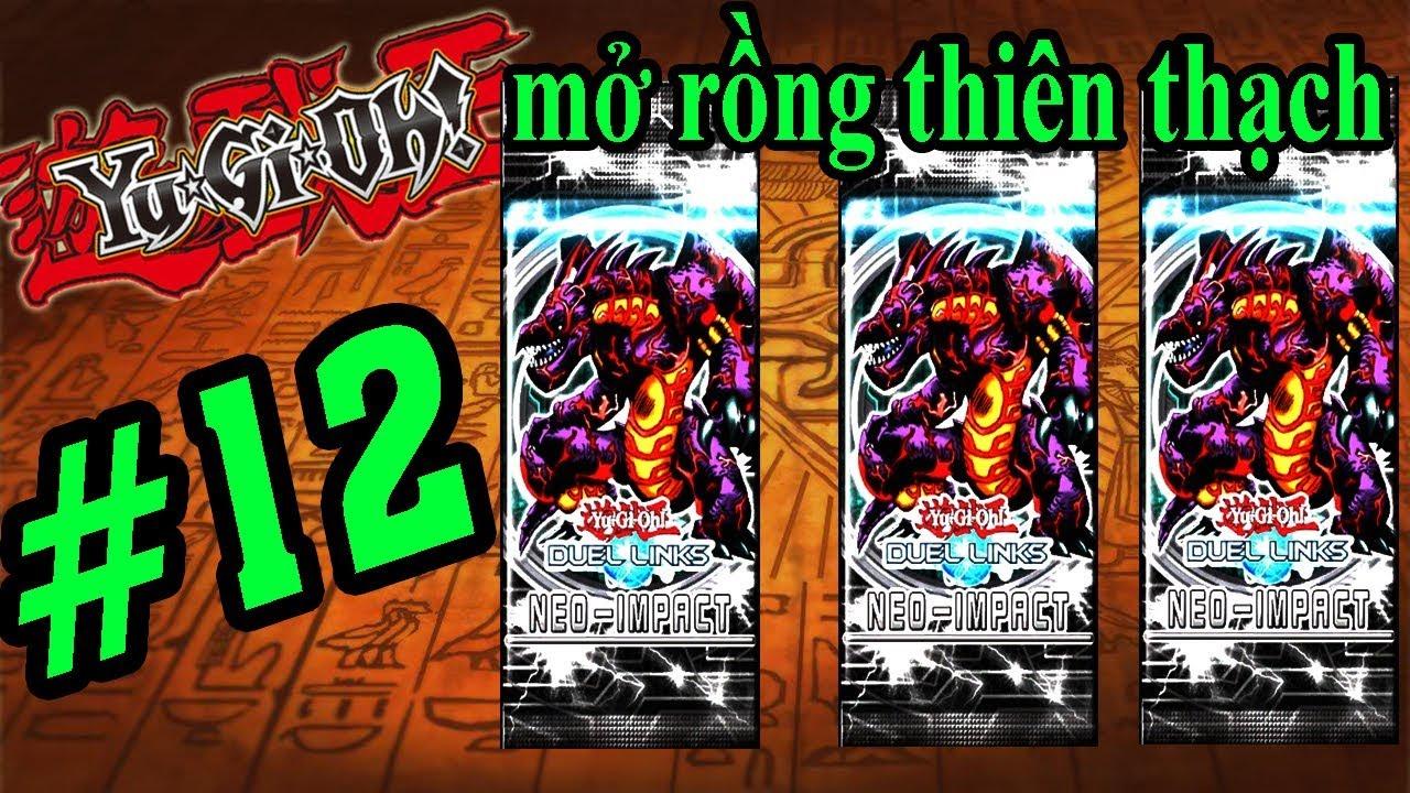 YuGiOh Duel Links - Mở Gói Bài Rồng Thiên Thạch - Yugi H5 VUA TRÒ CHƠI YUGIOH  #12