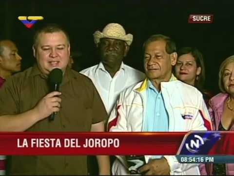 Ministro Reinaldo Iturriza en la Fiesta del Joropo desde Cumaná