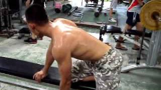 訓練闊背肌 健身 健美 長青健身房