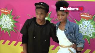 Jaden Smith, Willow Smith Nickelodeon Kids