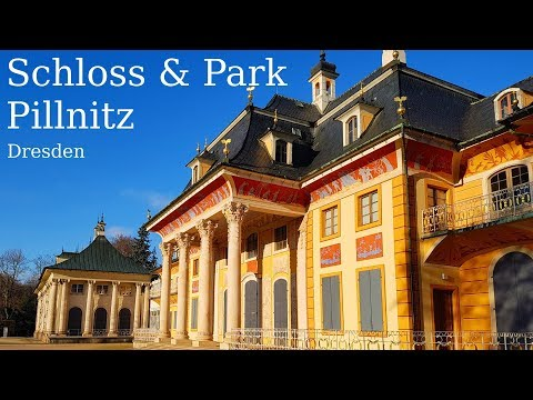 Dresden. Schloss & Park Pillnitz. (Sachsen, Germany)