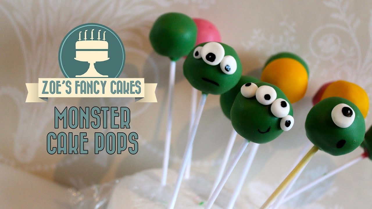 Monster cake pops How to make basic cake pops for beginners quick