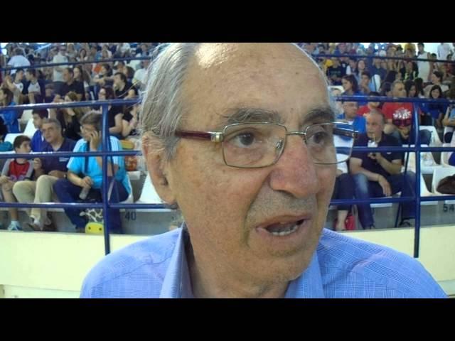 Video | ΚΩΣΤΑΣ ΠΟΛΙΤΗΣ στην εκδήλωση του All Star Game στο ΔΑΚ Γλυφάδας