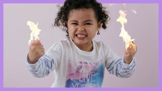 Little Girl On Fire - Lip Sync Dub