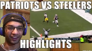 New England Patriots VS Pittsburgh Steelers HIGHLIGHTS 1/22/2017| AFC Championship Game (REACTION)